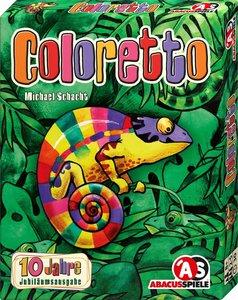 Coloretto Jubiläumsausgabe limitiert