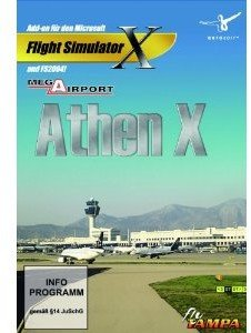 Flight Simulator X - Mega Airport Athen X