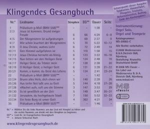 Klingendes Gesangbuch 8, Von Anfang bis Ende (mit Pfingsten)