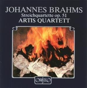 Streichquartette c-Moll op.51,1/a-Moll op.51,2