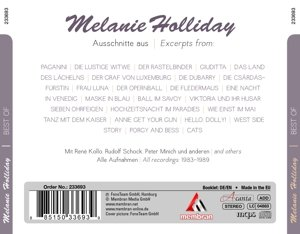 Melanie Holliday-The very best of