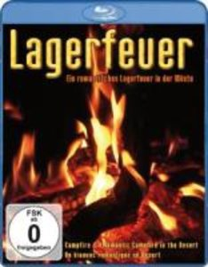 Lagerfeuer-Ein Romantisches Lagerfeuer In Der Wüst