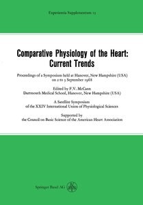 Comparative Physiology of the Heart: Current Trends