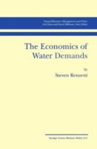 The Economics of Water Demands