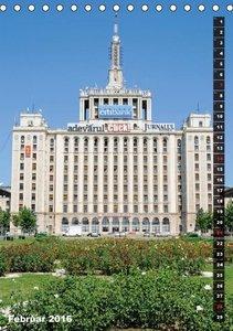 Bukarest (Tischkalender 2016 DIN A5 hoch)