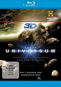 Unser Universum-Die 7 Wunder des Sonnensystems 3D