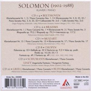 Solomon: Klarheit und Geheimnis
