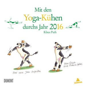 Yoga für Kühe - Kalender 2016