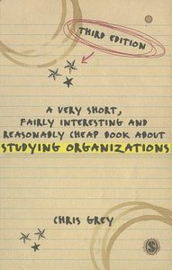 A Very Short Fairly Interesting and Reasonably Cheap Book About