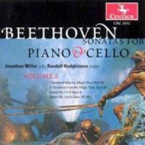 Sonaten Für Cello und Klavier vol.2