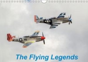 The Flying Legends (Wall Calendar 2015 DIN A4 Landscape)