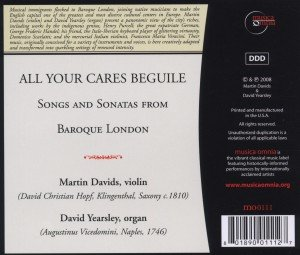 All Your Cares Beguile