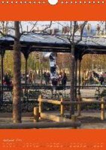 Paris se déplace (Calendrier mural 2015 DIN A4 vertical)