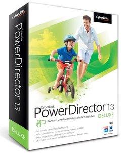 PowerDirector 13 Deluxe - Fantastische Heimvideos einfach erstel