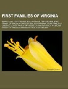 First Families of Virginia