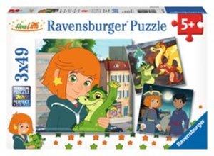 Ravensburger 09215 - Abenteuer mit Lilli und Hektor, Puzzle, 3x4