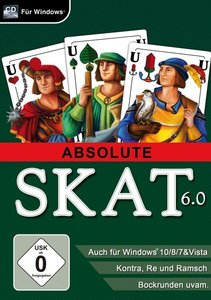 Absolute Skat 6.0. Für Windows Vista/7/8/8.1/10