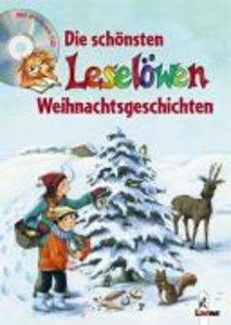 Die schönsten Leselöwen Weihnachtsgeschichten. Mit CD
