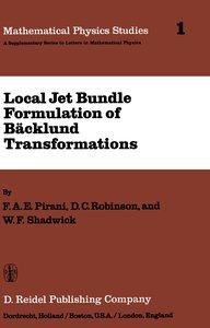 Local Jet Bundle Formulation of Bäckland Transformations