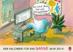 Klaus Puth: Posterkalender für das GANSE Jahr (Wandkalender 2014