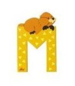 Sevi 81613 - Buchstabe: Murmeltier, M