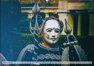 Festival der Masken (Wandkalender 2017 DIN A2 quer)