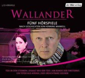 Wallander. Fünf Hörspiele. 1. Staffel