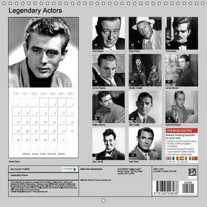 Legendary Actors (Wall Calendar 2015 300 × 300 mm Square)