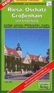 Riesa, Oschatz, Großenhain und Umgebung 1 : 50 000