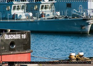 Marinehafen Kiel (Wandkalender 2016 DIN A3 quer)