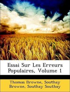 Essai Sur Les Erreurs Populaires, Volume 1