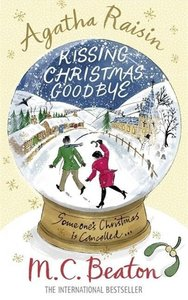 Agatha Raisin Kissing Christmas Goodbye