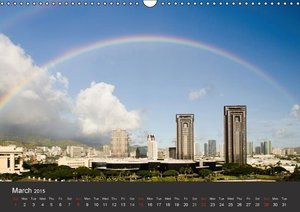 Hawaii - Islands at the other end of the world (Wall Calendar 20
