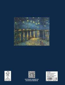 Vincent van Gogh 2017 Buchkalender/Diary Deluxe