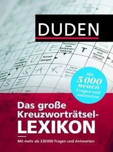 Duden - Das große Kreuzworträtsel-Lexikon