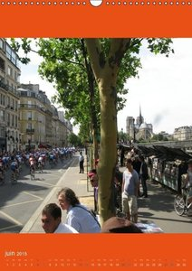 Paris et ses manifestations (Calendrier mural 2015 DIN A3 vertic