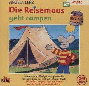 Die Reisemaus Geht Campen