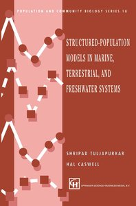Structured-Population Models in Marine, Terrestrial, and Freshwa