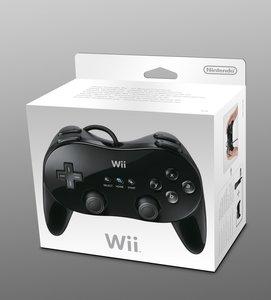 Wii Classic Controller Pro - Nintendo - Schwarz