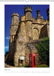 Anruf von Irgendwo - Telefonzellen in Großbritannien (Wandkalend
