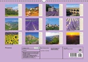 Provence (Wandkalender 2016 DIN A3 quer)