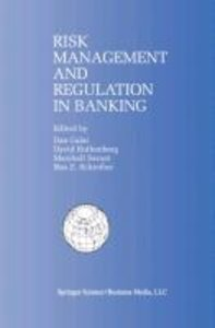 Risk Management and Regulation in Banking