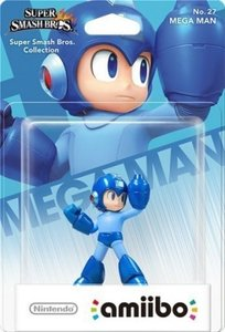 Amiibo Super Smash Bros. Collection - No. 27 Mega Man