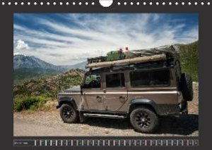 Defender on Tour / UK-Version (Wall Calendar 2015 DIN A4 Landsca