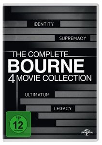 Bourne Collection 1-4