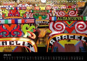 Colorful Mexico (Wall Calendar 2015 DIN A4 Landscape)