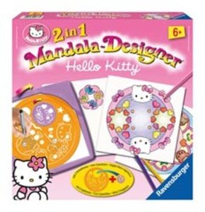 Ravensburger 29992 - 2in1 Mandala-Designer® Hello Kitty