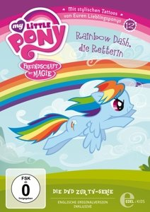(12)DVD z.TV-Serie-Rainbow Dash/Die Retterin