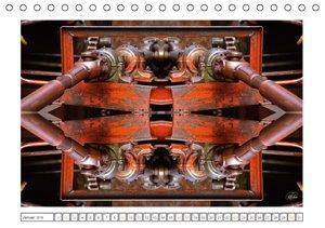 Faszination Spiegelung - Industrie und Technik (Tischkalender 20