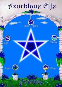 Azurblaue Elfe